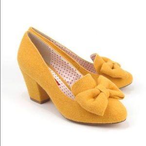 NIB BAIT Footwear Hippy Heels in Yellow 🌻